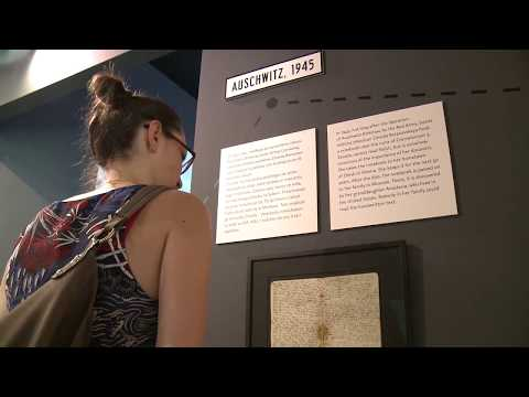"""Visiting """"The Girl in the Diary"""" exhibition at the Galicia Jewish Museum"""