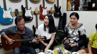 """Khách quý từ Nha Trang với nhạc phẩm """"Sao Đành Xa Em"""" tại CLB Nhạc cụ VŨ UYÊN"""