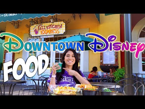 The Jazz Kitchen Express is Delicious | Downtown Disney Food!