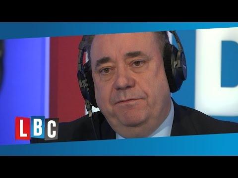 Alex Salmond Phone-In On LBC: Wednesday 10th February