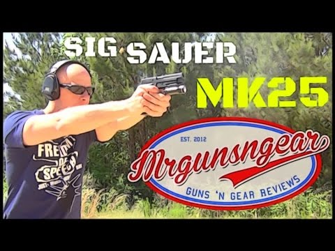 Sig Sauer P226 MK25: Navy SEAL Pistol Review (HD)