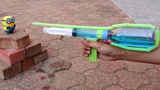 How to Make a Pump Action Water Gun