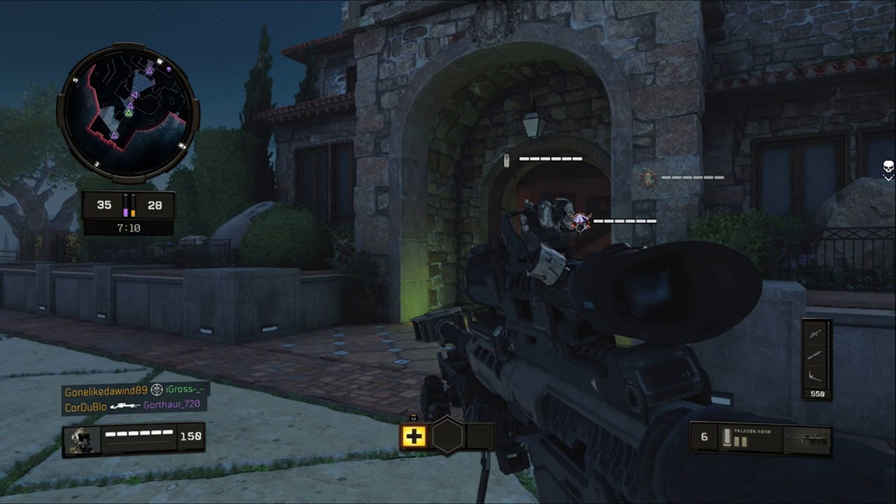 First Game On New PS4! Sniping to Easy!
