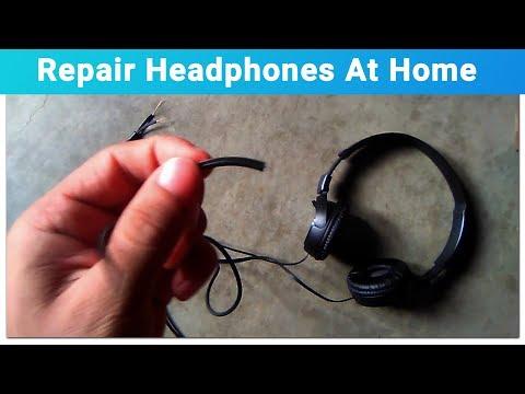 How To Repair Headphone Wires | Tutorial |