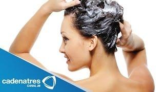 Receta para preparar shampoo orgánico. Shampoo casero / Shampoo receta
