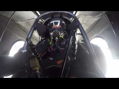 Inside the cockpit of a Funny Car with Jim Campbell