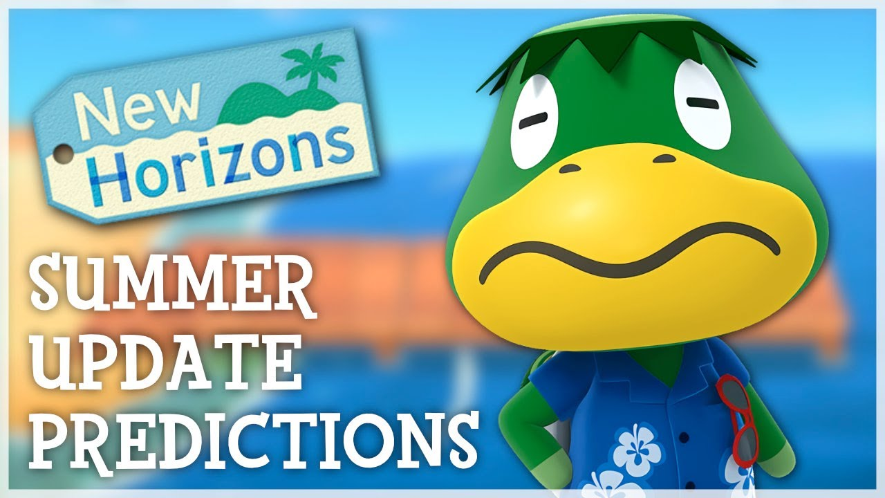 Animal Crossing New Horizons - Summer Update Predictions