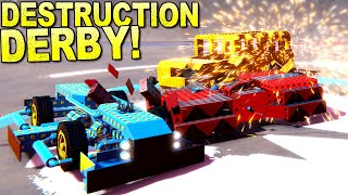 This Demolition Derby Did Not Go As Expected! - Trailmakers Multiplayer screenshot 5