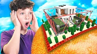 MINECRAFT CAN YOU BEAT my LITTLE BROTHER