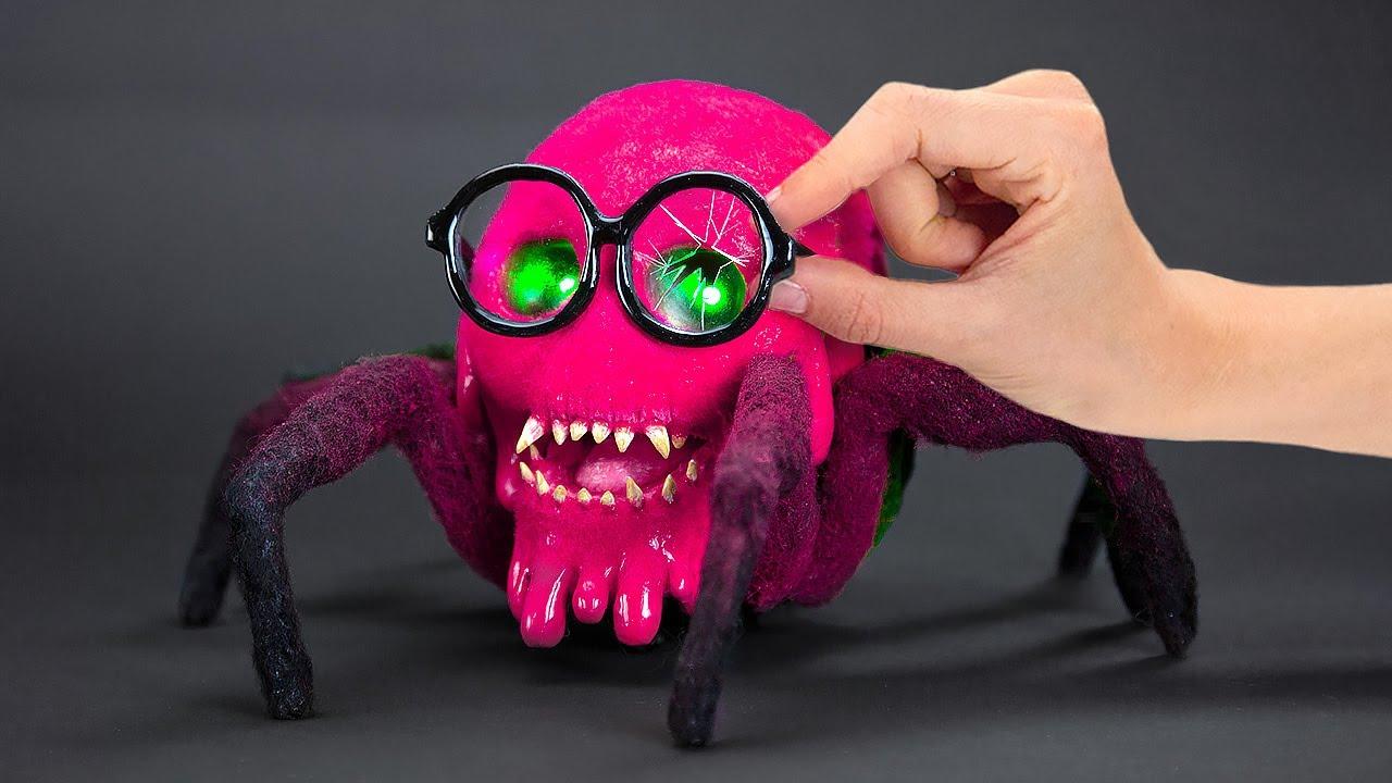 Transforming The Spider Robot Into The Creepy Slick Slime Sam