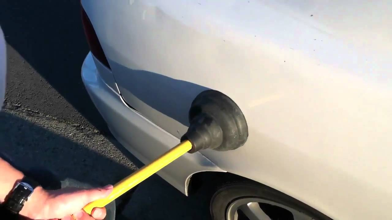 Car Max Near Me >> How to pop a dent out on your car - YouTube