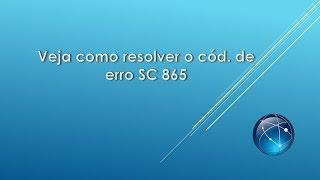Resolver código SC 865   Erro de HD em Ricoh