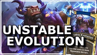 Hearthstone - Best of Unstable Evolution