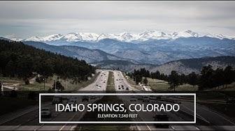 This IS Idaho Springs, Colorado - Frozen Fire Films, Dallas Video Production Company