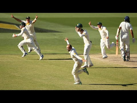 Full highlights of day five of the 2014 Adelaide Test