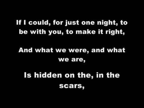 Miley Cyrus - Scars (with Lyrics)