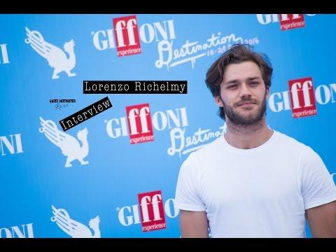 Lorenzo Richelmy  Giffoni 2016 Sub Eng