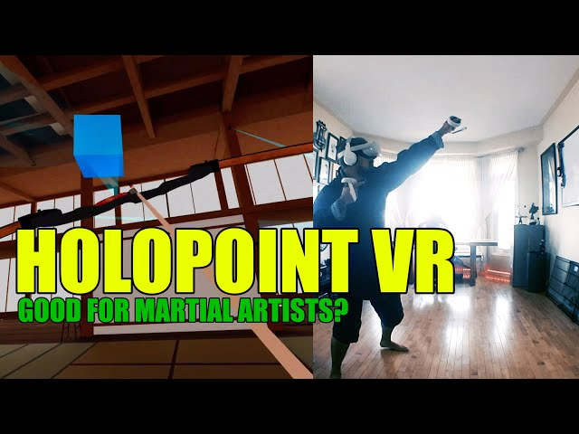 Holopoint VR for Oculus Quest 2: Can This Make You a Better Martial Artist?