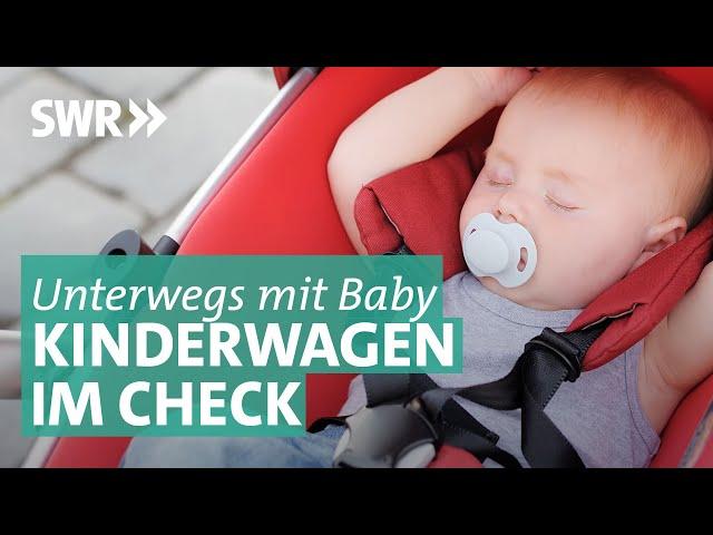Mobil mit Baby: Kinderwagen und Tragesysteme im Check | Preiswert, nützlich, gut?
