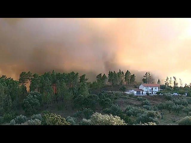 Incendie majeur dans le centre du Portugal #1