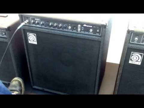 MusikMesse 2014: New Ampeg BA Bass Amps