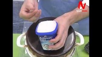 META.vn - Chất tẩy rửa dụng cụ nhà bếp Astonish