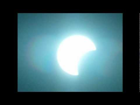 eclipce solar 20 de mayo  visto en ensenada baja california