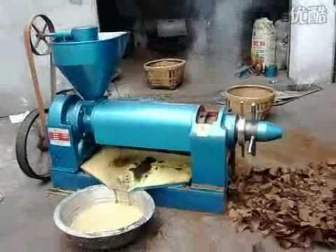 Peanut Oil Press Machine Vegetable Oil Press Machine Youtube