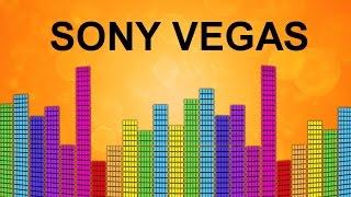 Сделать эквалайзер на видео в Sony Vegas. Плагин Boris для эффекта визулайзер. Урок видеомонтажа