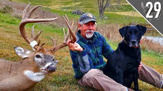 Ted Miller's BIGGEST BUCK EVER! - Iowa Giant Over a Decoy! | (THP Hunt Giveaway!)
