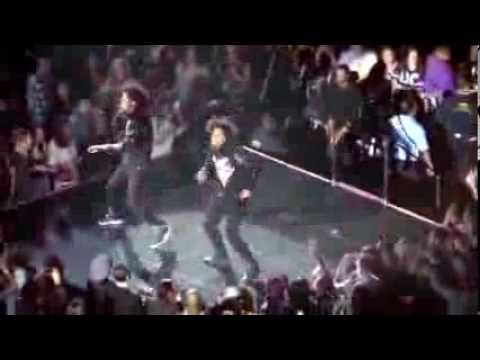 Beyonce WDYLM Les Twins Live at the O2 2nd March 2014