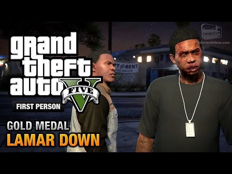 GTA 5 - Mission #70 - Lamar Down [First...