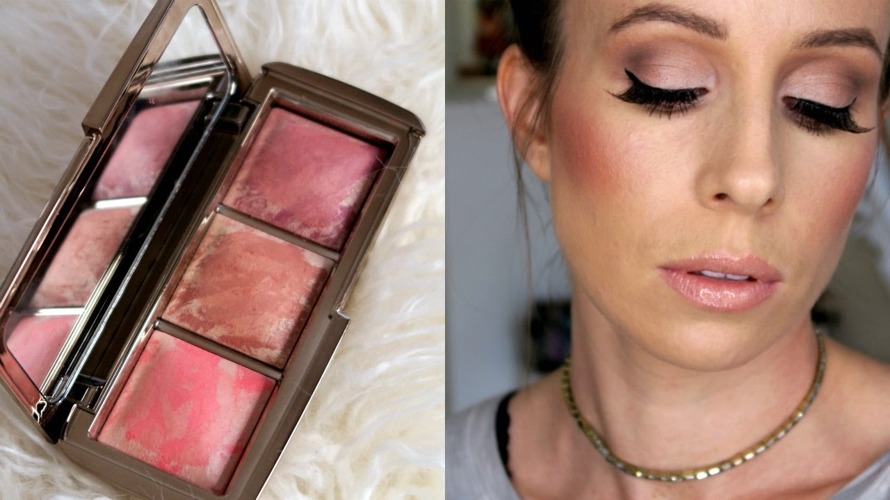 NEW Hourglass Ambient Strobe Lighting Blush | Review + Swatches   YouTube Awesome Design