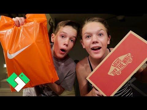 Back To School Shoe Shopping | Clintus.tv