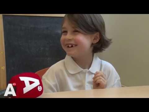 7-jarige wonderkind Laurent loopt al mee bij het AMC