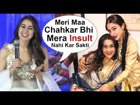 Sara Ali Khan's Makes FUN Of Mom Amrita Singh's Reaction On Her Kedarnath Movie Trailer Mp3