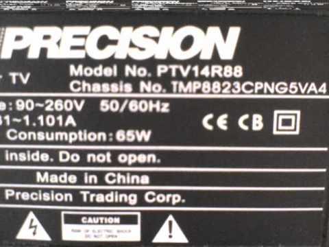 Eeprom Tv PRECISION PTV14R88 ,  24C08
