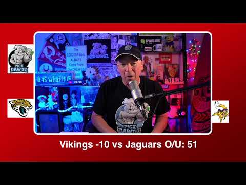Minnesota Vikings vs Jacksonville Jaguars 12/6/20 NFL Pick and Prediction Sunday Week 13 NFL