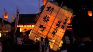 江戸時代に雨乞いから始まったと言われる 愛知県刈谷市の万燈祭の神前舞...