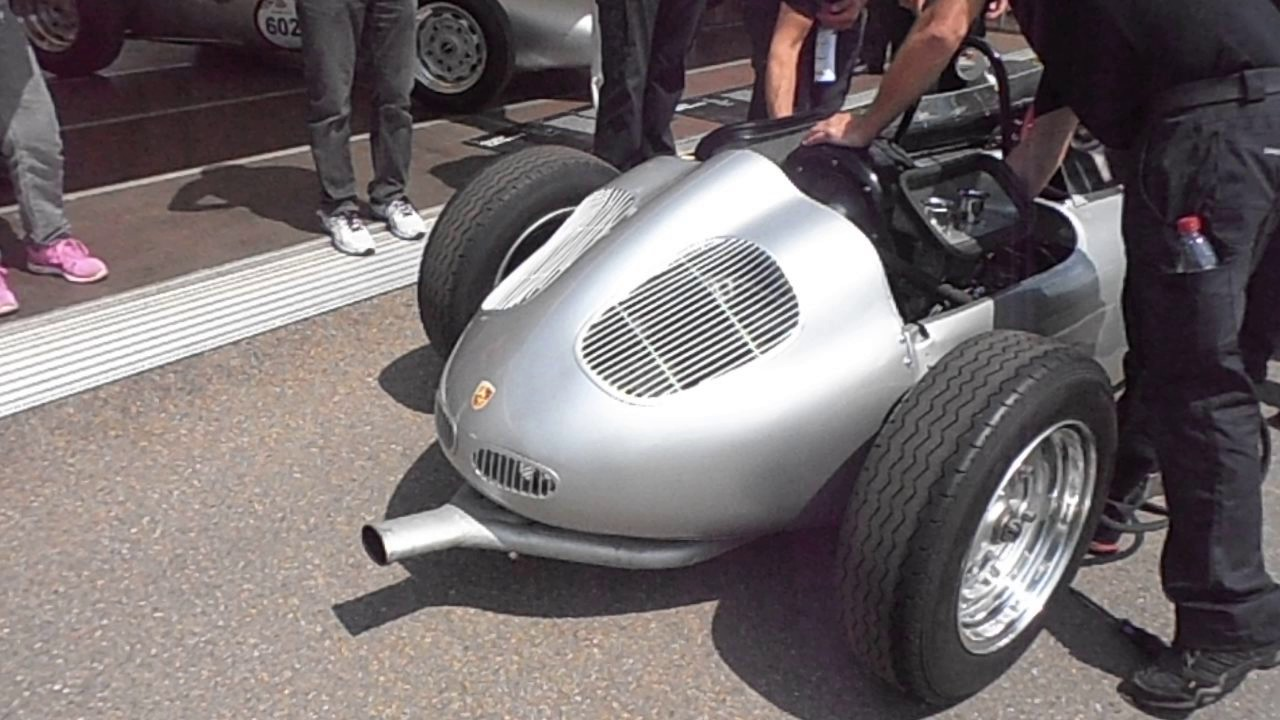 Werks Porsche Formel 2 Beim Solitude Revival Mit