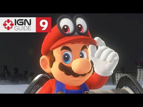 Super Mario Odyssey Walkthrough - Road to Sky Garden (Part 9)