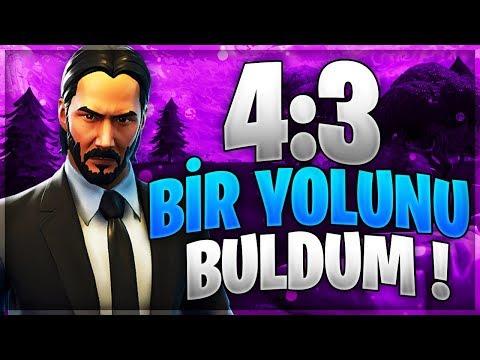 4.3 EKRANA GERİ DÖNÜŞ! EFSANE ÇÖZÜNÜRLÜKLE OYNADIK! Türkçe Fortnite Battle Royale