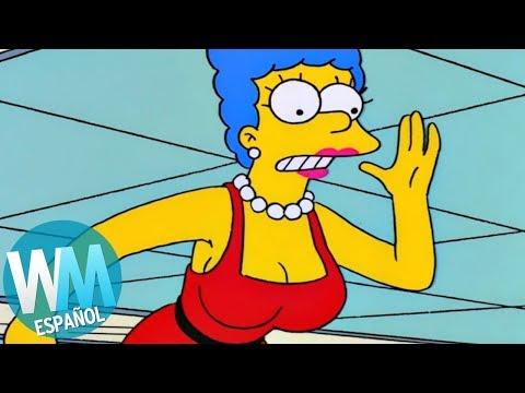 ¡Top 10 MILFs en Dibujos Animados!
