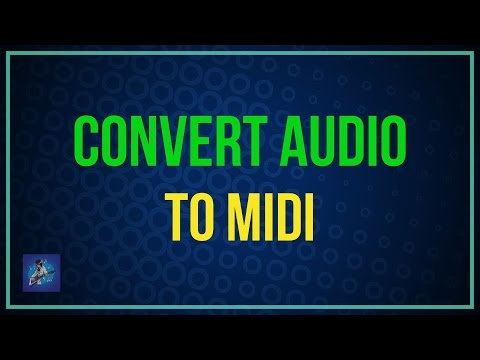 Convert audio to midi in FL