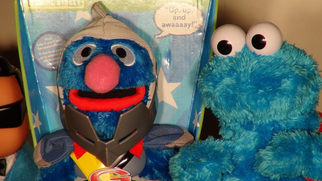 flying grover toy project