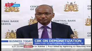 Subjects to account to CBK if they hold Shs. 1000 notes more than 1 million