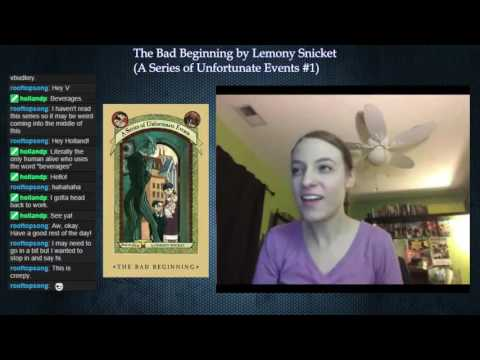 A Series of Unfortunate Events #1: The Bad Beginning by Lemony Snicket (Part 3)