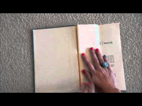 DIY- Chic Book Centerpiece Tutorial