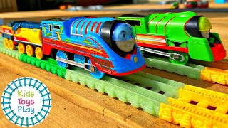 Thomas the Tank Engine TURBO SPEED Toy Train Races