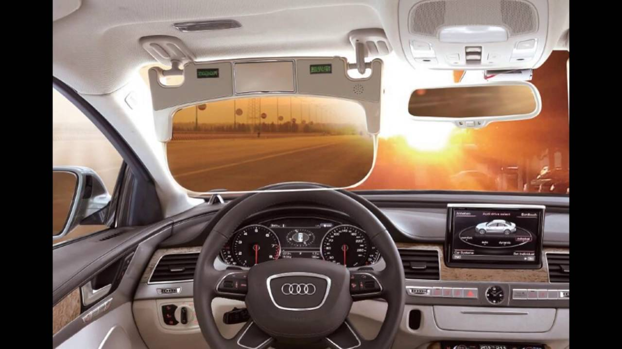 New automatic LCD Car Sun Visor - YouTube 4aa647ec2be